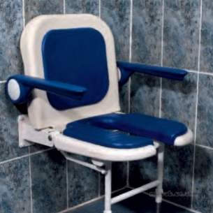 Akw Medicare Products -  04260 Seat Advanced W/m Foldup Mould Gry