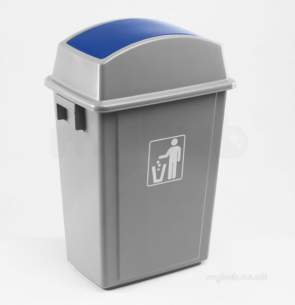 Akw Level Access Showering -  Akw Swing Bin 23148