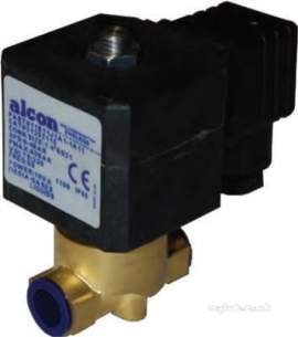 Alcon Gas Solenoid Valves -  Alcon 21 1324-15 1/8 Inch 230v Steam Solenoid Valve