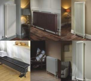 The Radiator Company Towel Warmers and Decorative Rads -  The Radiator Company Ancona 600/4 Column Ral