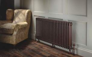 The Radiator Company Towel Warmers and Decorative Rads -  Ancona Cast Feet Kit For 21-30 Sec Ral
