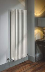 The Radiator Company Towel Warmers and Decorative Rads -  Ancona Wall Bracket Kit For 41-50 Sec Wh