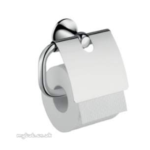 Hansgrohe Axor Products -  Terrano Toilet Roll Holder Chrome