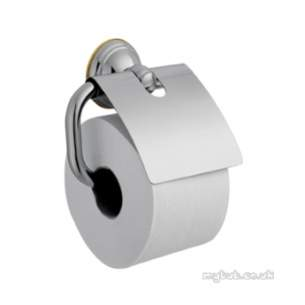 Hansgrohe Axor Products -  Carlton Toilet Roll Holder And Cover Mixage