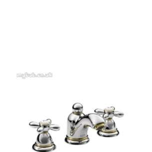 Hansgrohe Axor Products -  Carlton 3th Small Basin Mixer Puw Cp