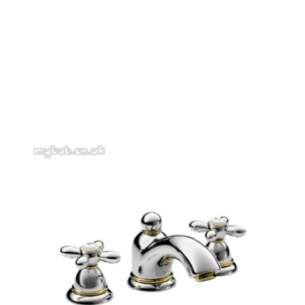 Hansgrohe Axor Products -  Carlton 3th Basin Mixer Puw Chrome Plated 17133000
