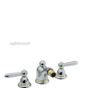 Hansgrohe Axor Products -  Carlton 3th Bidet Mixer Cp/porcelain