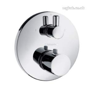 Hansgrohe Showering -  Hansgrohe 15721 Therm Mixer Finish Set Cp