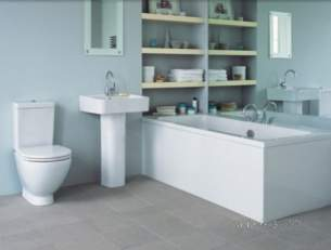 Ideal Standard Luxury -  Ideal Standard White Standard Suite Exc Brassware