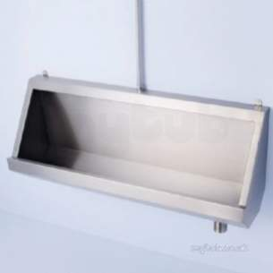 Armitage Shanks Commercial Sanitaryware -  Armitage Shanks S6176 Corner Plinth Ss