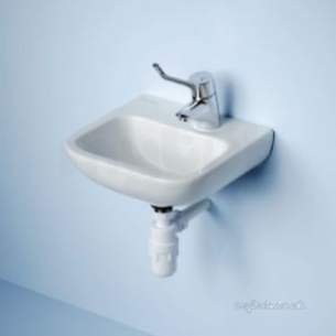 Armitage Shanks Commercial Sanitaryware -  Armitage Shanks Portman 21 Basin Bkt No Fin Pack B And Waste Sup