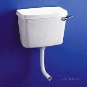 Armitage Shanks Commercial Sanitaryware -  Armitage Shanks Compact S3905 Cistern Cw Screwdown Lid Wh