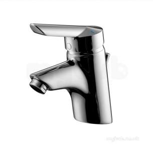Armitage Shanks Commercial Brassware -  Armitage Shanks Piccolo 21 B9135 Sl Basin Mixer With Puw