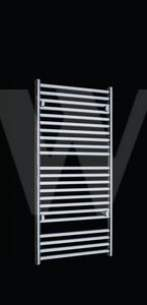 Design and Decorative Radiators -  Arula 700 X 400 Straight Chrome 6438149112331