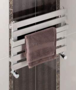 Eastbrook Towel Rails -  5.760 Ascona 390 X 500 Stainless Steel