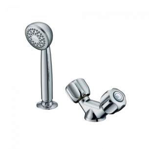 Armitage Shanks Commercial Brassware -  Armitage Shanks Starlite S7450aa H/drssr 1th Mixerand Kit Cp