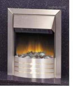 Dimplex Electric Fires -  Dimplex Aspen Optiflame Fire S/steel