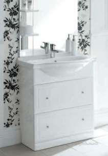 Roper Rhodes Basins -  Roper Rhodes Aspen/evo 550mm Basin White