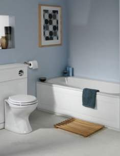 Roper Rhodes Bath Panels -  Roper Rhodes Aspen 1700mm Front Panel White
