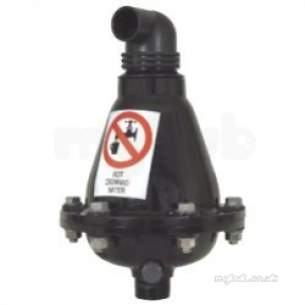 Avk Valves -  Avk Squat Double Sewage Air Valve 80mm 701080704306