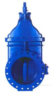 Sluice and Check Valves -  Avk 54 M/f Pn16 Gate Valve 600mm