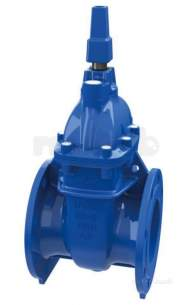 Sluice and Check Valves -  Avk 37 M/f Bareshaft Sluice Valve 100mm
