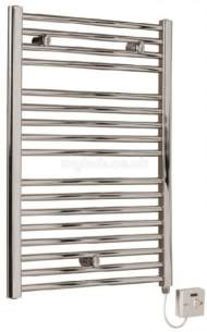 Myson Towel Warmers -  Myson Eecoc186c Elec Curved Chrome
