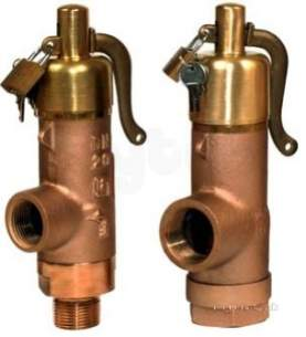 Bailey 706 and 716 Relief Valves -  Bailey 707-65el Safety Relief Valve 50mm