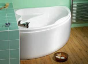 Eastbrook Baths -  23.2291 Bali 1200 X 1200 Carronite White