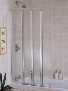 Kohler Daryl Bath Screens -  054 Multi-fold Bathscreen Squ S/cl900r