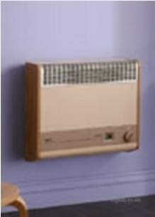 Baxi Gas Fires and Wall Heaters -  Baxi Brazilia F8s Wall Heater Ng Mahogany