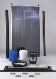 Baxi Solarflo Solar Heating Systems -  Baxi 2 Panel In Roof Slate 5122246
