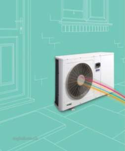 Baxi Air Source Heat Pumps -  Baxi Amibiflo 75 And Buffer Pack 5131495