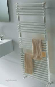 The Radiator Company Towel Warmers and Decorative Rads -  The Radiator Company Bd25 Double 800 X 600 White