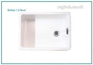 Astracast Sinks And Accessories -  Astracast Belfast Ceramic Sink White