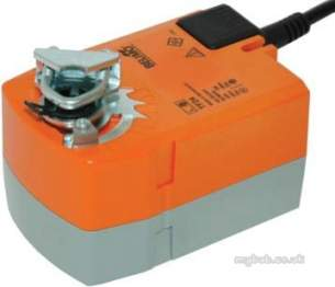 Belimo Automation Uk Ltd -  Belimo Tf24-3 Spr Ret Act 2nm 75s 95 Ip42