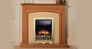 Be Modern Fire Surrounds -  Be Modern 42 Inch Ashford Suite Nat Cherry
