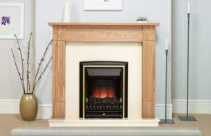 Be Modern Surrounds and Suites -  Be Modern 42 Inch Darras Suite Blk/nat Oak