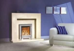 Be Modern Fire Surrounds -  44 Inch Lauren/pearl Stne16 Inch C/o 90mm Rebate