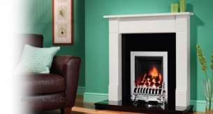 Be Modern Fire Surrounds -  42 Inch Wykeham Mantel Natural Oak