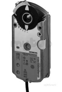 Landis and Staefa Control Systems -  Siemens Gma121.1e 24v 7nm Rotary Actuator 2 Position