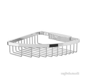 Bristan Accessories -  Comple Accessory Corner Shower Basket Ch
