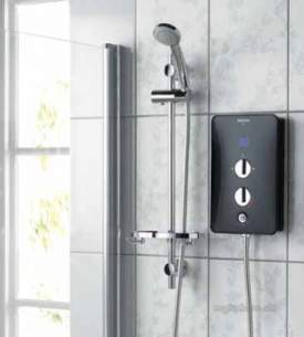 Bristan Electric Showers -  Bristan Joy 10.5 Kw White Joy105 W