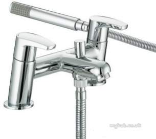 Bristan Brassware -  Bristan Orta Bath Shower Mixer Chrome