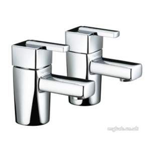 Bristan Brassware -  Bristan Qube Tap Pack With Wastes Ch