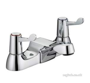 Bristan Brassware -  Value Lever Bath Filler Cp With Ceramic