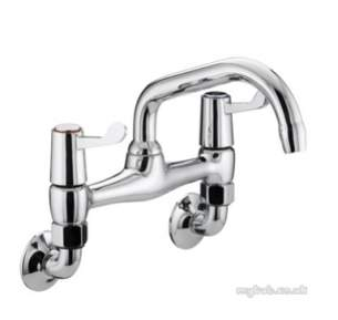 Bristan Brassware -  Value Lever W/m Bridge Sink Mixer Chrome Plated Wth