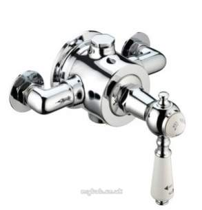 Bristan Showering -  Cardinal Thermo Surf Mtd Shower Valve Ch