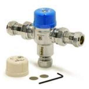 Pegler Thermostatic Mixing Valves -  Wolseley 15mm Bulldog Ilc Tmv3 And 2