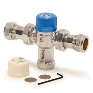 Pegler Thermostatic Mixing Valves -  Wolseley Bulldog 22mm Ilc Tmv 3 And 2